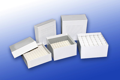 Cryogenic storage box-cardboard