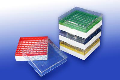 Cryogenic storage box-polycarbonate